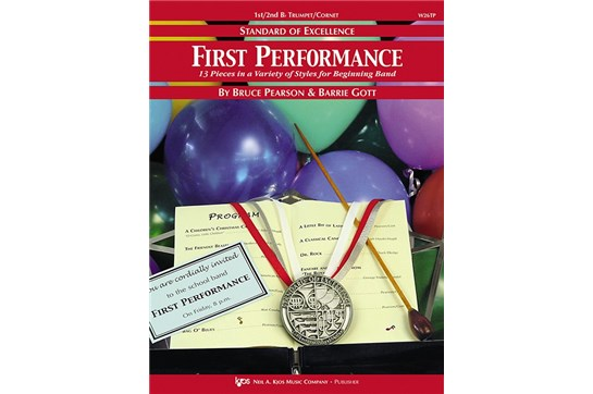 Standard of Excellence First Performance Bb Tenor Sax