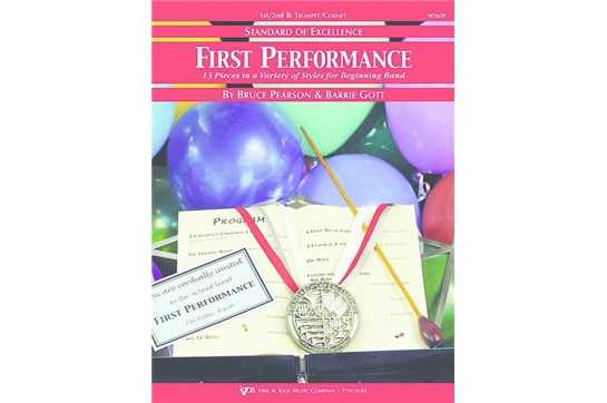 Standard of Excellence First Performance Trumpet 1 & 2