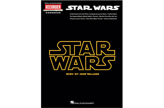 Star Wars Recorder Songbook