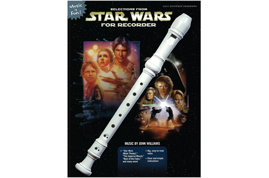 Selections from Star Wars for Recorder