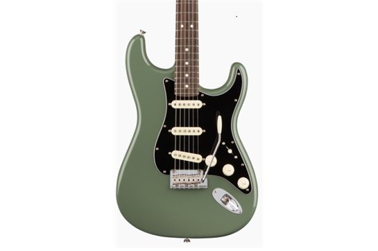 Fender American Professional Stratocaster (Antique Olive) - Rosewood Neck