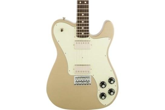 Fender Chris Shiflett Telecaster Deluxe - Shoreline Gold