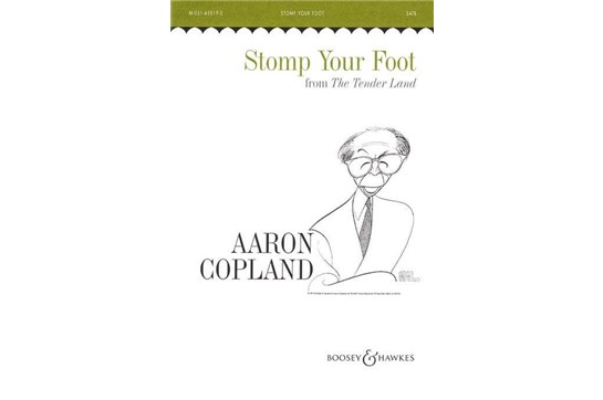 Stomp Your Foot - SATB