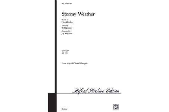 Stormy Weather - SAB