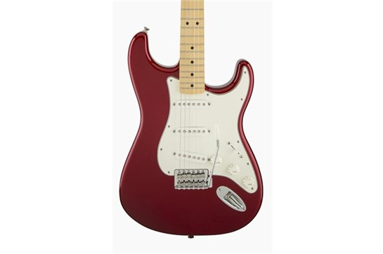 Fender Standard Stratocaster (Candy Apple Red) - Maple Neck