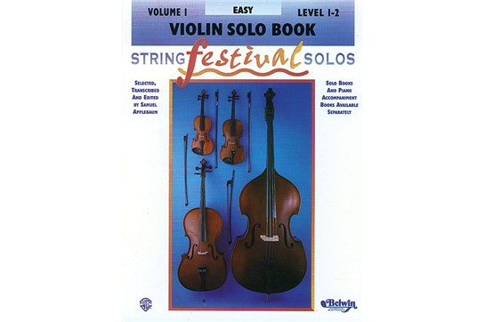 String Festival Solos, Volume I for Violin
