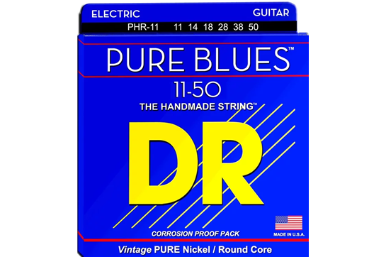 DR Strings Pure Blues Heavy Electric Strings