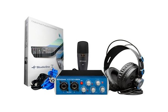 PreSonus, Audiobox 96 Studio Recording Bundle