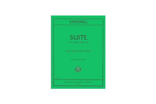 Suite in A minor Op. 10