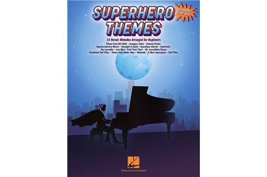 Superhero Themes - Piano Solos for Beginners