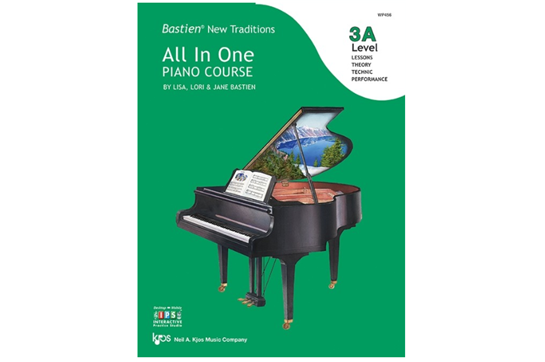 Bastien New Traditions: All In One Piano Course, Level 3A