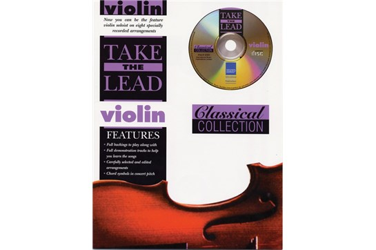 Take the Lead: Classical Collection Violin Book & CD