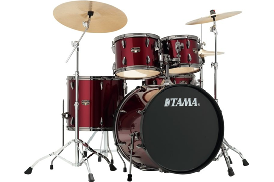 Tama Imperialstar Drum Set, IP50NCCPM (Candy Apple Red)