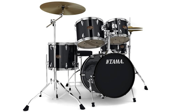 Tama Imperialstar Drum Set (Gloss Black)