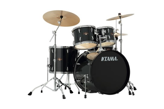 Tama Imperialstar Drum Set (Hairline Black)