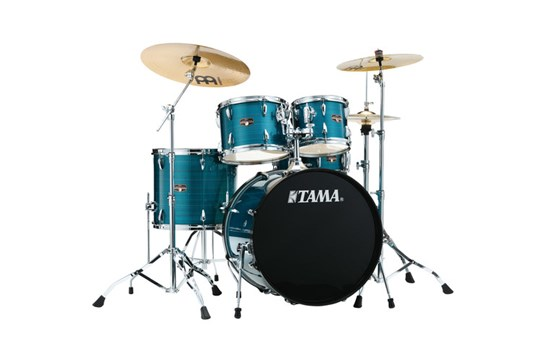Tama Imperialstar Drum Set (Hairline Blue)
