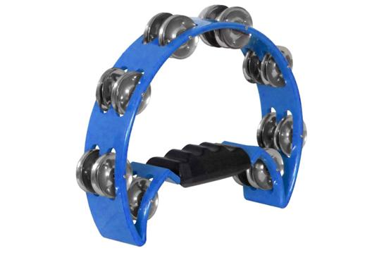 Dadi Hand Held Tambourine (Blue)