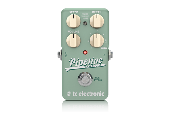TC Electronic Pipeline Tap Tremolo Pedal