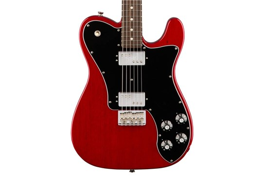 Fender Limited Edition American Professional Mahogany Telecaster w/ Deluxe Shawbucker (Crimson Red)