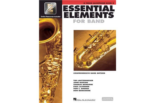 Essential Elements Tenor Sax Lesson Book 2
