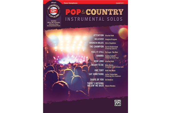 Pop & Country Instrumental Solos (Tenor Sax)