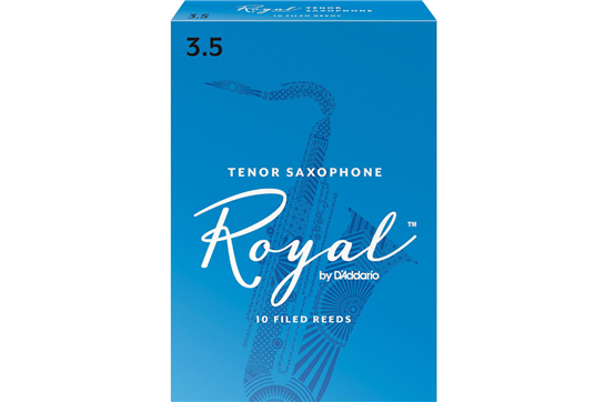 Rico Royal Tenor Saxophone Reeds Strength 3.5 (Box of 10)
