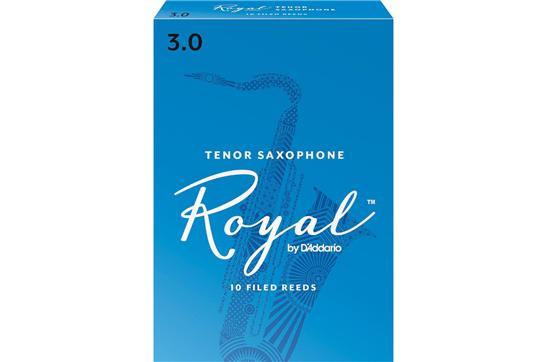 Rico Royal Tenor Saxophone Reeds Strength 3 (Box of 10)