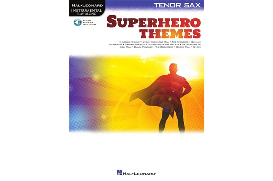 Superhero Themes - Tenor Sax