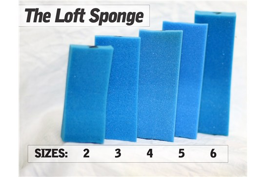 LOFT SPONGE SHOULDER REST - Size 6