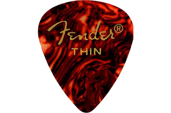 Fender Tortoise Shell Picks (12 Pack)