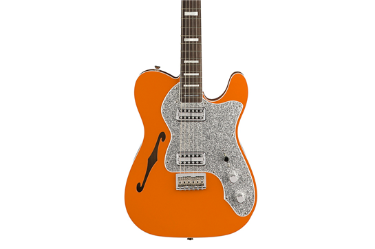 Fender Parallel Universe Tele Thinline Super Deluxe (Orange w/ Rosewood Fingerboard)