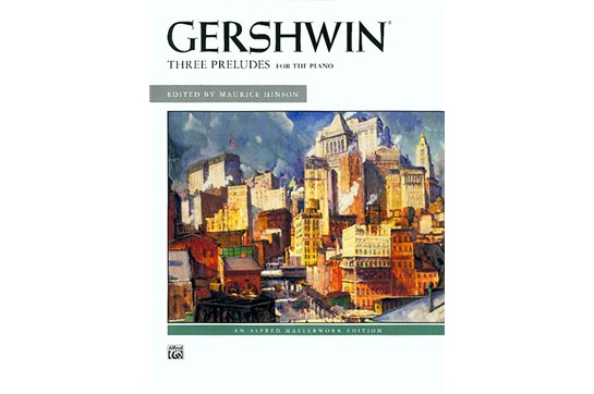 Gershwin: Three Preludes - Jazz Piano Solo (6521A2)