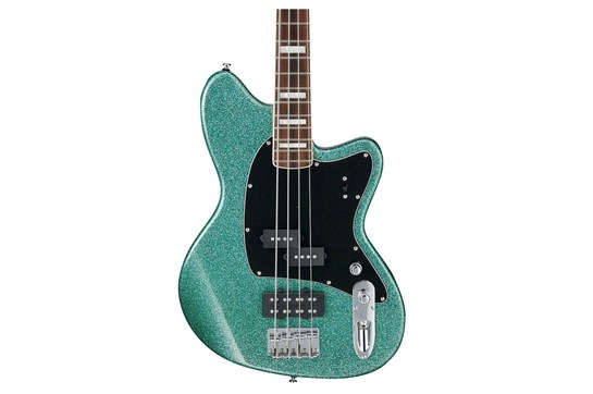 Ibanez Talman Bass TMB310 4-String Electric Bass Guitar  Turquoise Sparkle