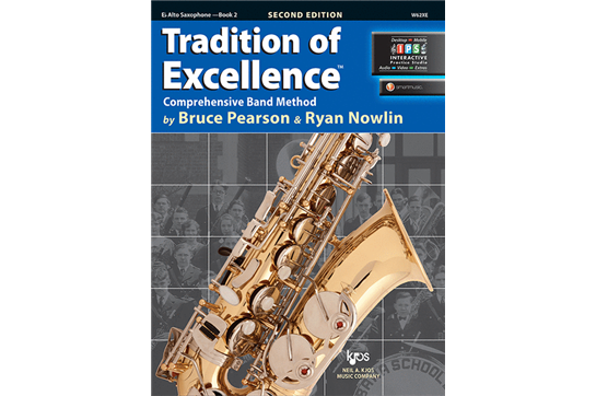 Tradition of Excellence Alto Saxophone Lesson Book 2