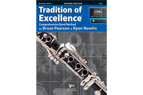 Tradition of Excellence Bb Clarinet Lesson Book 2