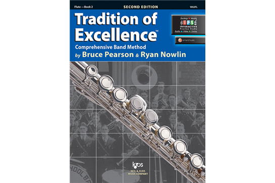 Tradition of Excellence Flute Lesson Book 2