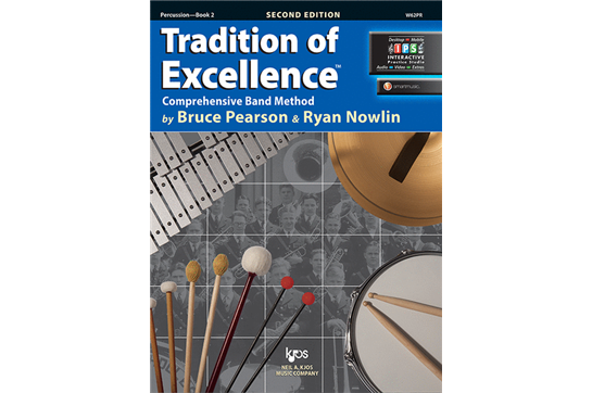 Tradition of Excellence Percussion Lesson Book 2