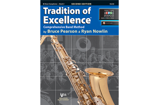 Tradition of Excellence Tenor Saxophone Lesson Book 2