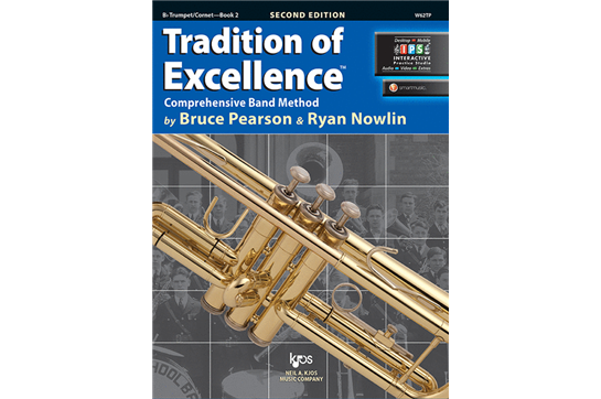 Tradition of Excellence Trumpet Lesson Book 2