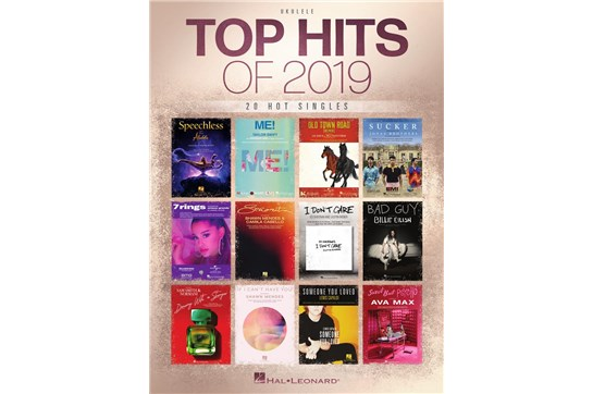 Top Hits of 2019- 20 Hot Singles for Ukulele