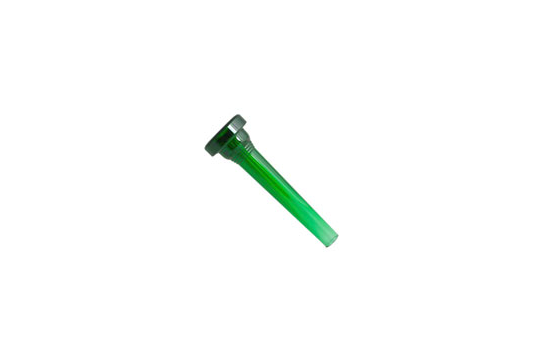 Kelly Plastic Mouthpiece, Trumpet 7C (Crystal Green)