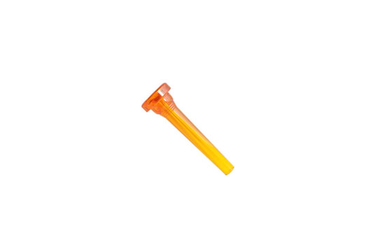 Kelly Plastic Mouthpiece, Trumpet 7C (Crystal Orange)