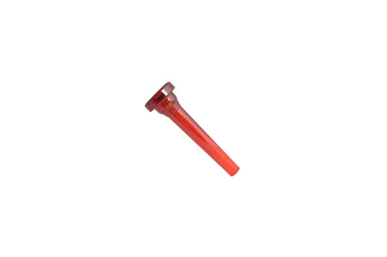 Kelly Plastic Mouthpiece, Trumpet 7C (Crystal Red)
