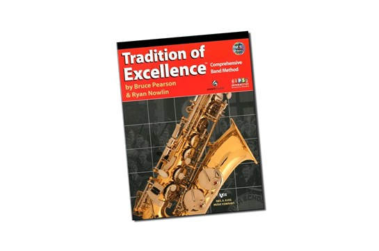Tradition of Excellence Baritone Lesson Book 1 (Treble Clef)