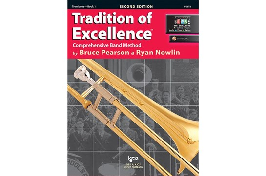Tradition of Excellence Trombone Lesson Book 1 (Bass Clef)
