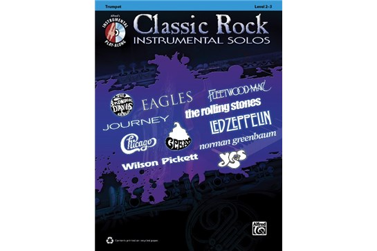 Classic Rock Instrumental Solos for Trumpet