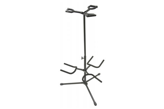 On Stage Deluxe Folding Triple Guitar Stand