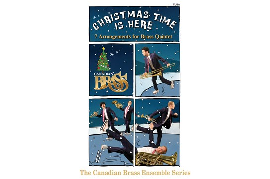 Canadian Brass Christmas Time Is Here (Tuba)