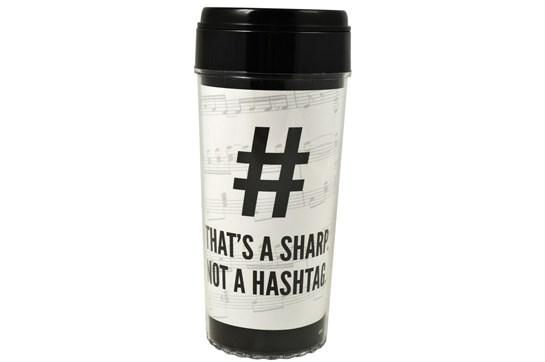 That's a Sharp Not a Hashtag Travel Tumbler