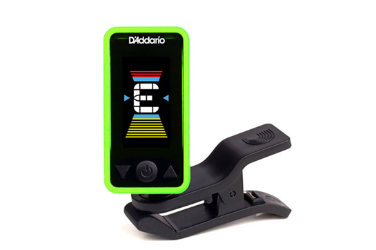 D'Addario Eclipse Tuner - Green